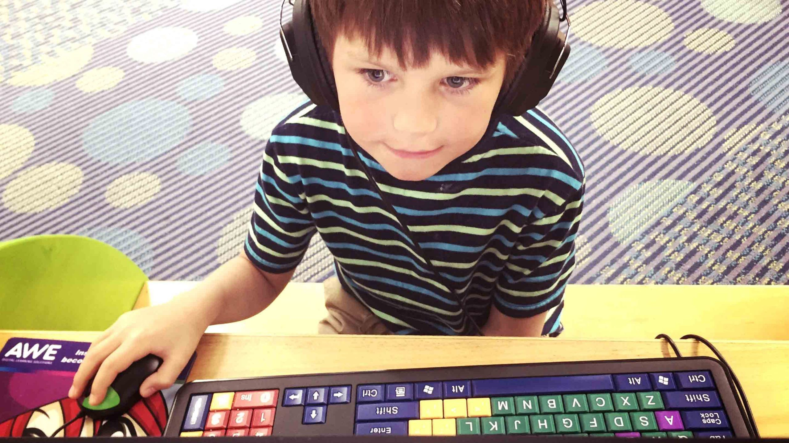 Assistive technology equipment for youth