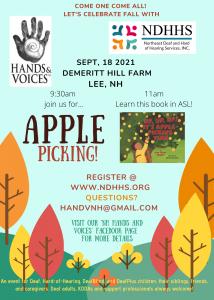 Apple Picking Flyer
