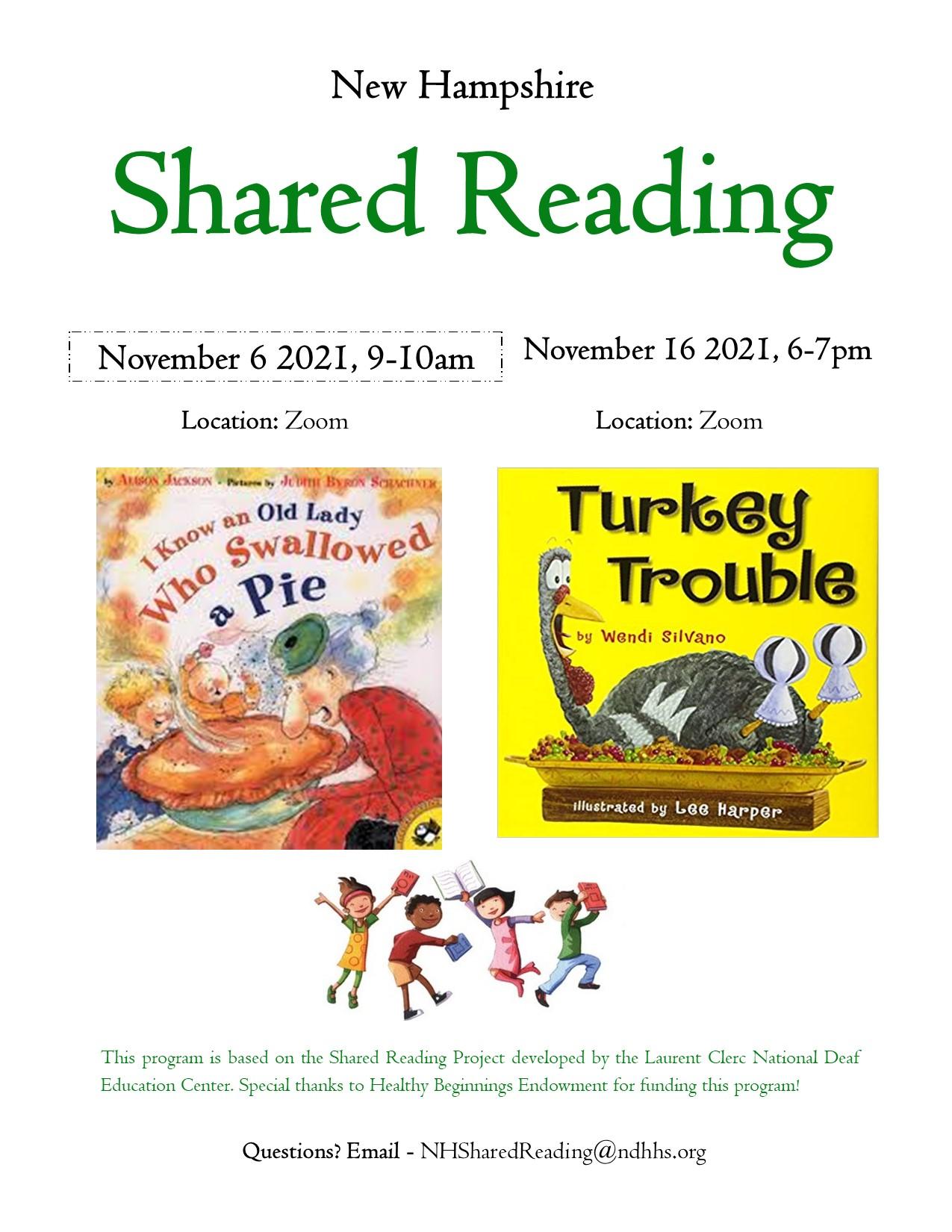 Nov shared reading flyer